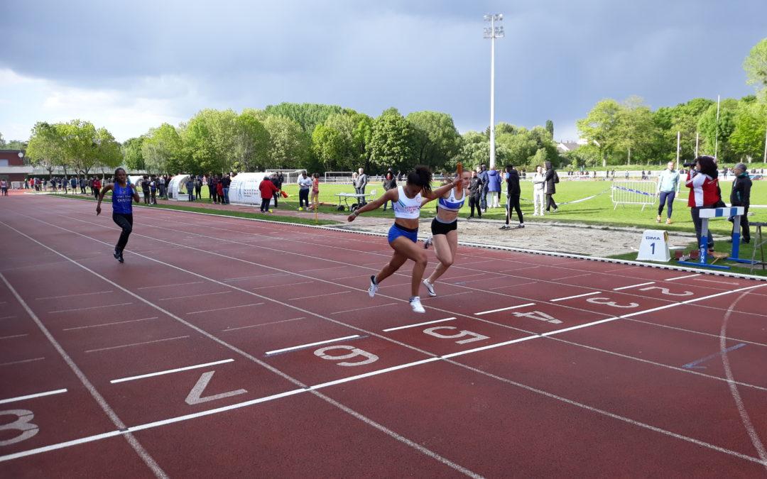 Championnats d'Ile de France Séniors à Montgeron