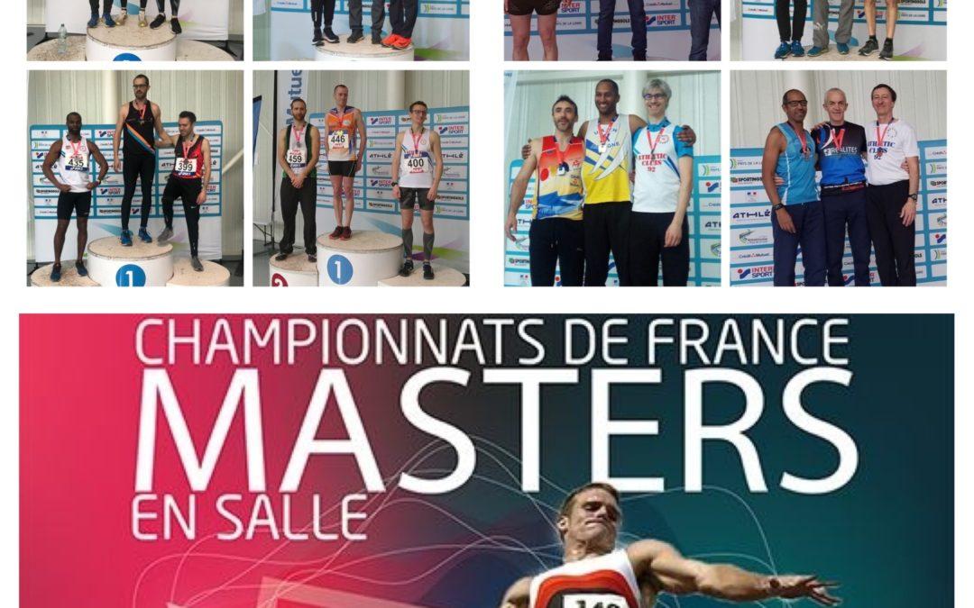 Championnats de FRANCE Masters en Salle