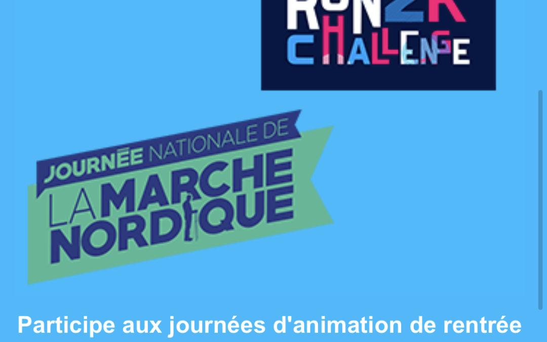 Participe aux Journées d'animation de la rentrée