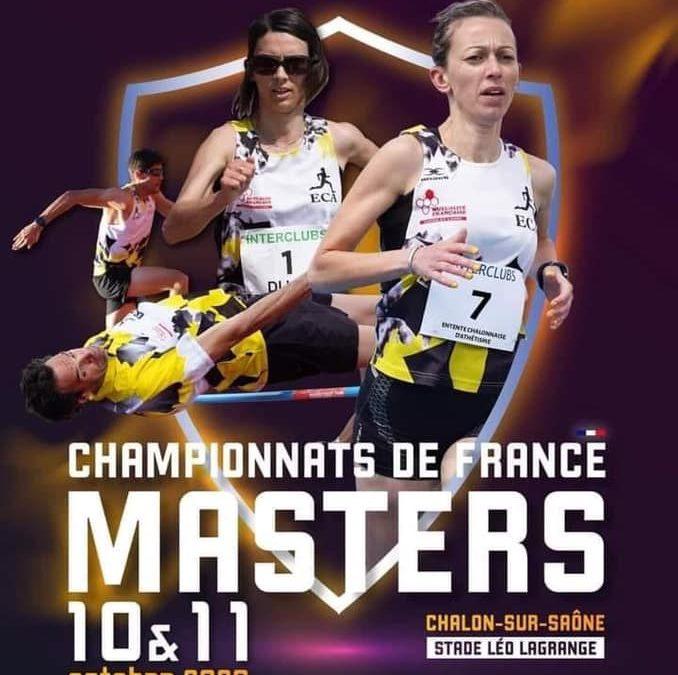 Championnats de France Masters sur Piste
